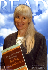Photo of Read Poster, Judi, and Professional Book